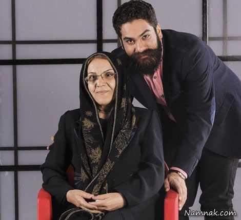 علی زند وکیلی  و مادرش