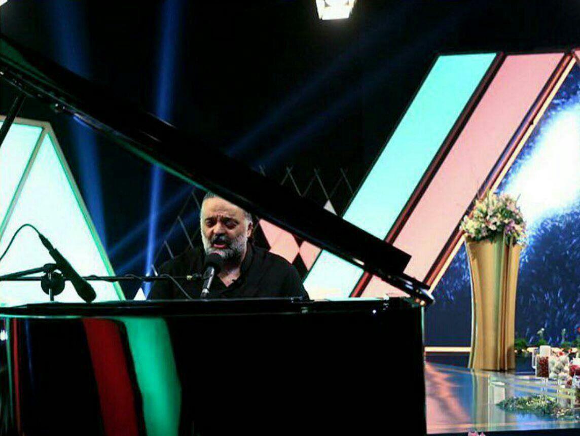 علیرضا عصار و ساز پیانو در تلویزیون