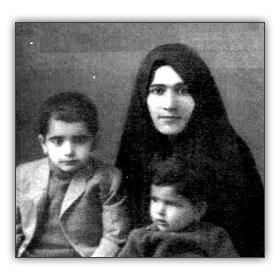 محمدرضا شجریان و مادرشان