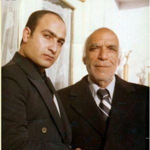 «احمد مراتب» در کنار استاد «تاج اصفهانی»